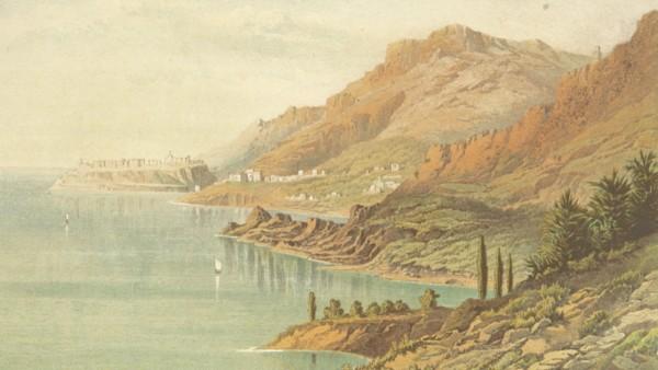 Historia Monako, rycina z XIX w.