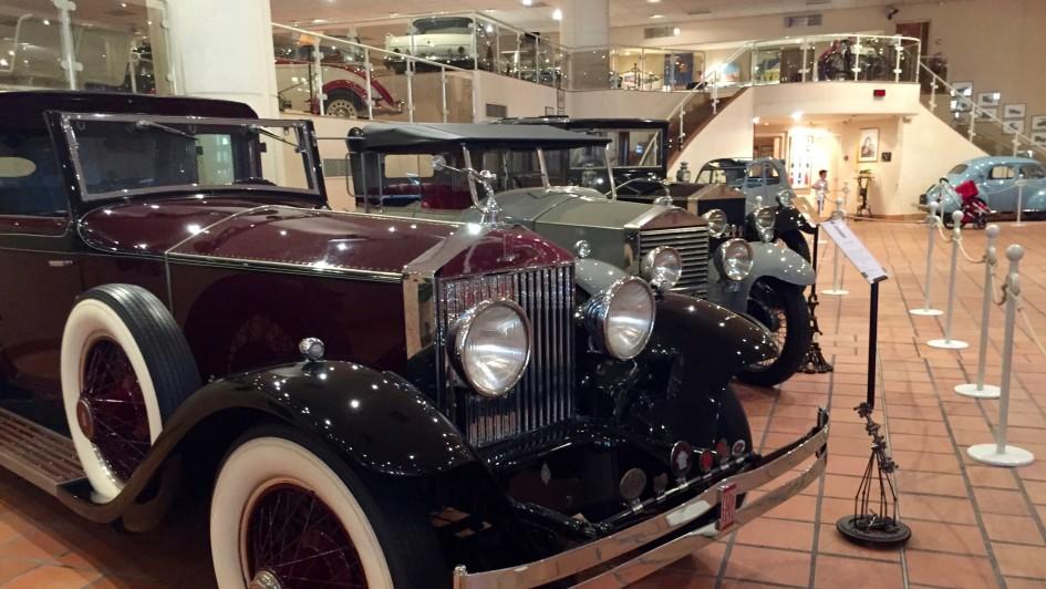 Luksusowe samochody księcia Monako