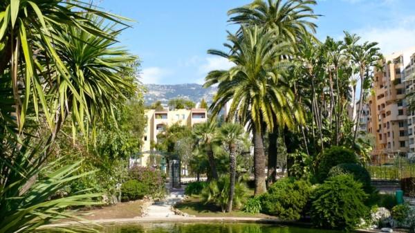 Ogród różany księżnej Grace w Monako