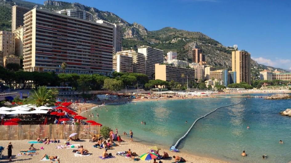 Plaża Larvotto, Monako Monte Carlo
