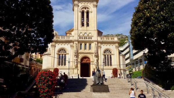 Kościół św. Karola w Monako Monte Carlo