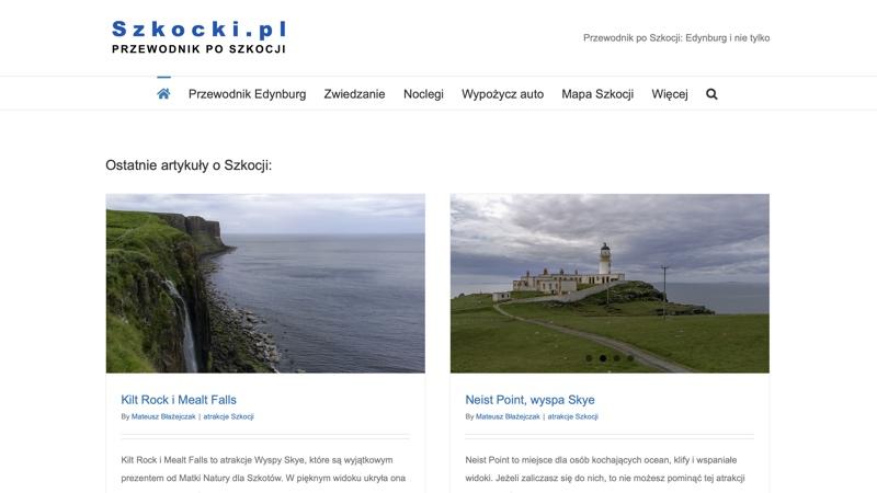 Blogi podróżnicze: Szkocki.pl