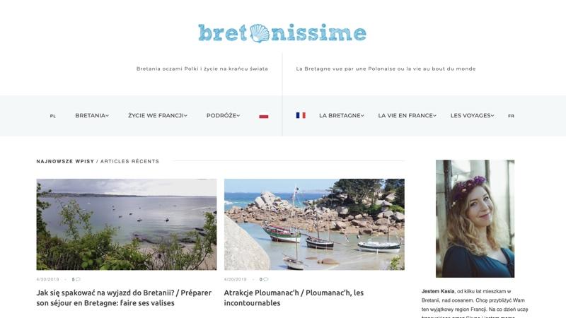 Blogi podróżnicze: Bretonissime