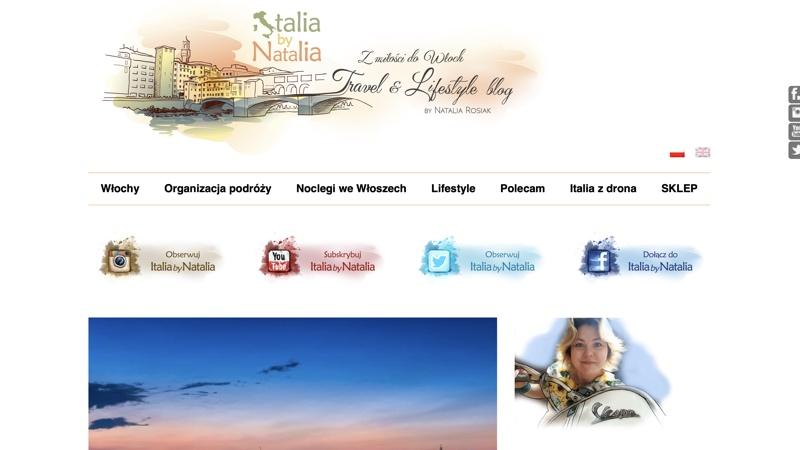 Blogi podróżnicze: Italia by Natalia